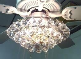 acrylic crystal chandelier type ceiling fan light kit kits universal hunter