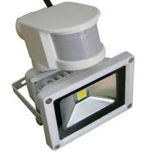 exterior floodlights motion sensor bright bridgelux cob led outdoor motion sensor light fixtures whole