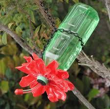 plastic spoon bottle hummingbird feeder