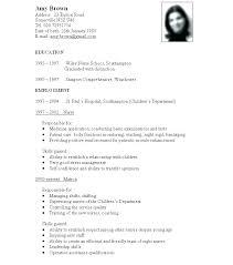 Personal Resume Format Standard Resume Format Sample Awful Standard ...