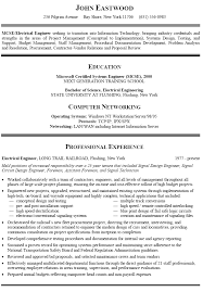mcse resume samples 15 career change resume samples us31 kokomo