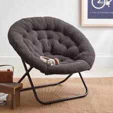 33 sensational hang around chair charcoal sherpa a round pbteen cover pottery barn ikea