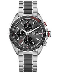 mens watches macy s tag heuer men s swiss chronograph formula 1 calibre 16 two tone stainless steel and ceramic
