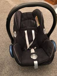 maxi cosi baby car seat and isofix base in newton le willows