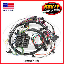 79 camaro dash wiring harness manual with gauges ebay 79 Camaro Wiring Harness image is loading 79 camaro dash wiring harness manual with gauges 79 camaro engine wiring harness