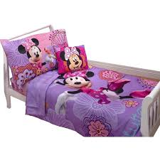 minnie mouse toddler bed set mouse 4 piece toddler bedding set designs minnie mouse toddler bed
