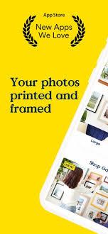 keepsake frame your photos on the app