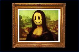 "essay modern art and its artists one of the many banksy editions of leonardo da vinci s ""mona lisa"" titled ""mona lisa smile"""