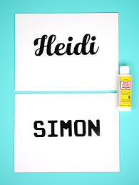 start by applying your vinyl name or graphic or alphabet stickers to the canvas if using transfer tape i have found that the paper type transfer tape