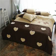 pink brown egypt cotton soft bedclothes girls cute bedding sets queen king size doona quilt duvet cover bed sheet set yellow comforter sets gray comforter