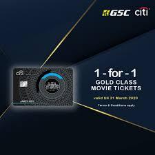 Citi Prestige New Card Design 4 Oct 2019 31 Mar 2020 Citi Prestige Gold Class Tickets
