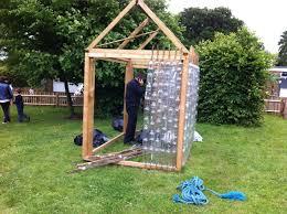 plastic bottle greenhouse plans house