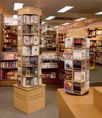 Library Book Display Stands Book Store Or Library Fixture Flooring 100tier Rotating Bookshop 26