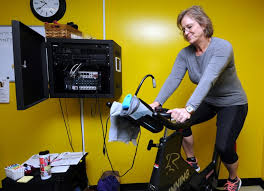 Beginner quickly advanced to certified spinning instructor | The Daily  Gazette