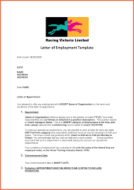 Gallery Of Letter Of Employment From Employer