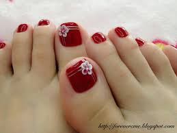 Toe Nail Designs Flowers 50 Most Beautiful And Stylish Flower Toe Nail Art Design Ideas
