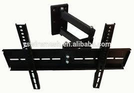 full motion tv wall mount bracket holder 32 60 screen view regarding tv with shelves plans 19