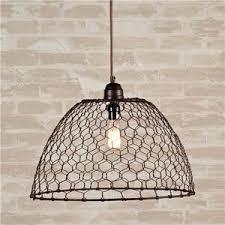 Chicken Wire Basket Pendant Light SHADES