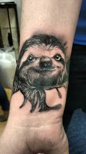 Awesome Sloth Tattoo By Elliott At Two Hearts Tattoo Imgur