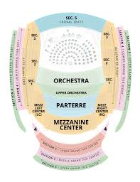 Kauffman Theater Seating Chart Symphony Concert Seating Chart Kansas City Symphony