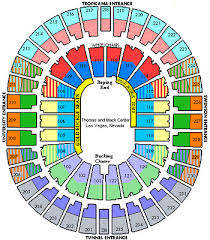 Thomas And Mack Center Seating Chart 2019 National Finals Rodeo Single Low Balcony Tickets Tuesday 05 10 Perf 6 Ebay