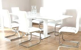 white gloss dining table ikea small