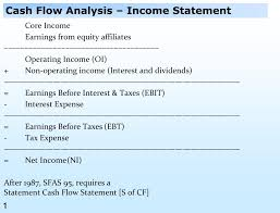 Cash Flow Statements Analysis Ppt Cash Flow Analysis Income Statement Powerpoint