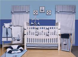 baby boy furniture. Awesome Baby Boy Nursery With Nautical Theme Decor Idea Feat Contemporary Crib Furniture And Stripes Window S