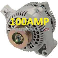 ford 1 wire alternator 100amp alternator fits ford truck car high output 100amp 1 wire hookup