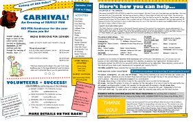 Orem Elementary Pta September Newsletter And Carnival Info