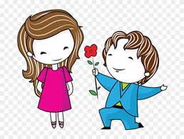 love couple drawing marriage love couple cartoon png free