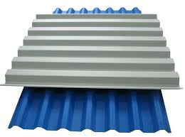 clear corrugated