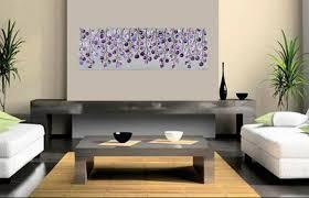 modern canvas wall art lavender