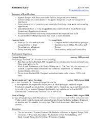 Professional Skills For Resume Resume Templates