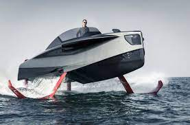 FOILER - A Hydrofoil Boat from the United Arabian Emirates