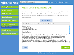 Resume Makers Write a Better Resume Resume Maker Individual Software 1