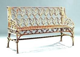 red garden benches shed outdoor furniture cast iron pattern bench cushion