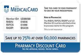 usa medical card pharmacy discount