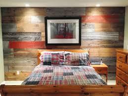 brown reclaimed barn board wall