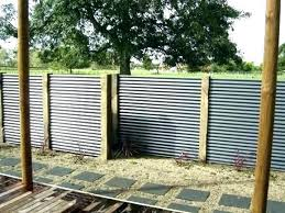 s corrugated metal fence panels decorating styles panel cost