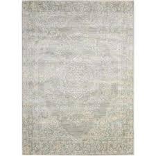 euphoria grey 8 ft x 10 ft area rug grey bone nourison euphoria