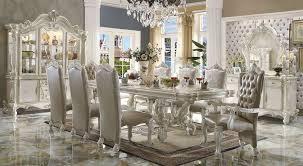 white dining room set formal. Versailles Large Formal Dining Room Set In White H