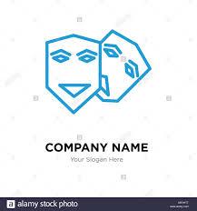 Theatre Company Logo Design Theater Company Logo Design Template Business Corporate