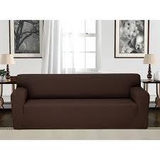 t cushion sofa slipcovers anti slip spandex elastic stretch t cushion sofa slipcover reviews three cushion