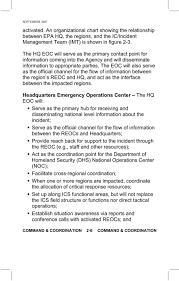 Epa Region 3 Organizational Chart Epa Regional Emergency Operations Centers Reoc Pdf Free