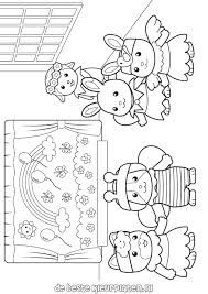 Calico Critter Free Coloring Pages On Art Coloring Pages