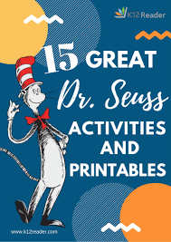 Community Helpers Chart Great Seuss Printables And Activities For Your Classroom