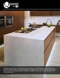 TM FULL PAGE PHOTO Fairy White Q Premium Natural Quartz is a natural quartz  surface made. SLABS COUNTERTOPS ...