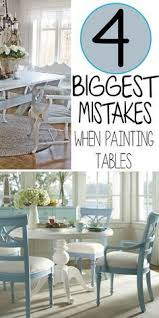 painting a kitchen or dining table isn t really much more difficult than painting any other piece of furniture the main