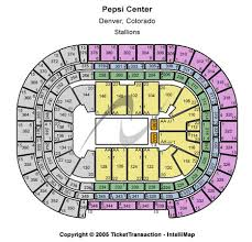 Pepsi Center Seating Chart The Weeknd Pepsi Center Tickets In Denver Colorado Pepsi Center